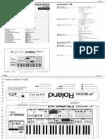 Roland JP-8000 Service Notes