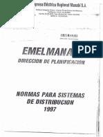 Normas Sistema Distribución 1997