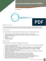 Lic Matematicas