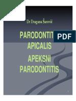 Apikalni parodontitis