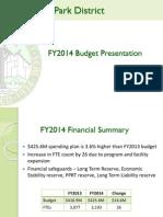 Budget Presentation 2014