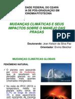 MUDANÇAS CLIMATICAS E SEUS IMPACTOS SOBRE AS   PRAGAS