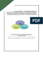 Manual de Funciones y Procedimientos Para Los Equipos Interdisciplinarios Especializados