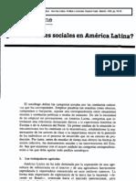 Touraine, Alain - Existen clases sociales en Am+®rica Latina