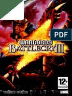 WBC3 Manual