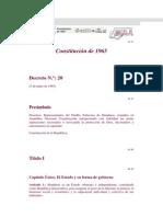 Constitucion de 1965