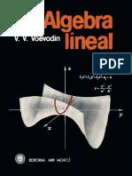 Algebra Lineal De V. V. Voevodin