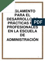 REGLAMENTO DE PRÁCTICAS DE ADMINISTRACIÓN (1)