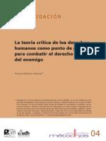La teoría crítica de los derechos humanos