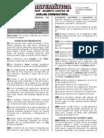1-Apostila de Análise Combinatória (6 páginas, 81 questões)