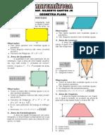 2-Apostila geometria plana-Áreas (6 páginas, 32 questões)