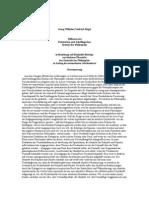 Hegel, Georg Wilhelm Friedrich - Differenz Des Fichteschen Und Schellingschen Systems Der Philosophie