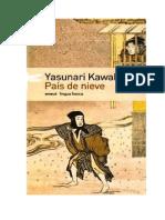 Kawabata Yasunari - El Pais de Nieve [Doc]