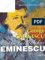Calinescu George - Viata Lui Mihai Eminescu (Tabel Crono)