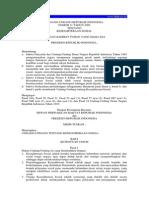 Undang-Undang No. 11 Tahun 2009 Tentang Kesejahteraan Sosial
