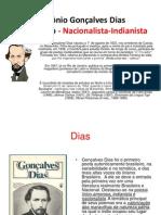 Antônio Gonçalves Dias power point para apresentar