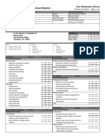 Old Torrance Unified Report Card