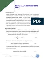 Bab 7 Penyelesaian Persamaan Diferensial3