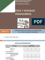Sesión 12 - Costos y Estados Financieros
