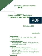 Matriz de Insumo Producto