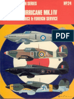 Osprey Aircam Aviation Series 24 - Hawker Hurricane Mk I-IV in Royal Air Force & Foreign Service