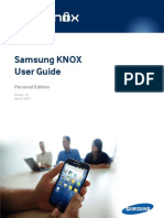 Samsung KNOX User Guide