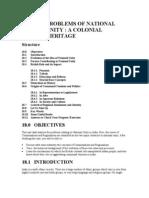 problems of national unity - regional imbalances | Economic