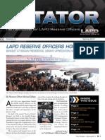 LAPD Reserve Rotator Newsletter Spring 2011