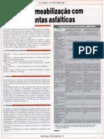 Ed. 05 - Set-1993 - Impermeabilizao Com Mantas Asfalticas