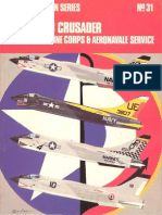 Osprey Aircam Aviation Series 31 - Vought F-8 Crusader in USN US Marine Corps & Aeronavale Service