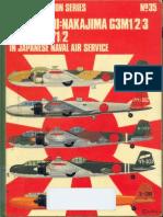 Osprey Aircam Aviation Series 35 - Mitsubishi Nakajima G3M1-2-3 Kusho L3Y1-2 in Japanese Naval Air Service