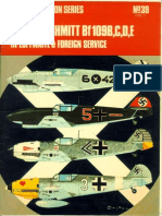 Osprey Aircam Aviation Series 39 - Messerschmit Bf109.B,C,D,E in Luftwaffe & Foreign Service