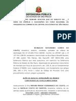 AÇÃO DE BUSCA E APREENSÃO COM GUARDA FIXADA