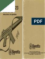 Beretta AR70 Owner Manual