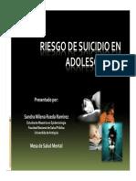 Aproximación riesgo de suicidio