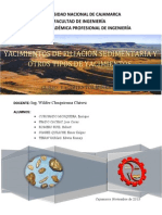 Yac. Filiacion Sedimentaria