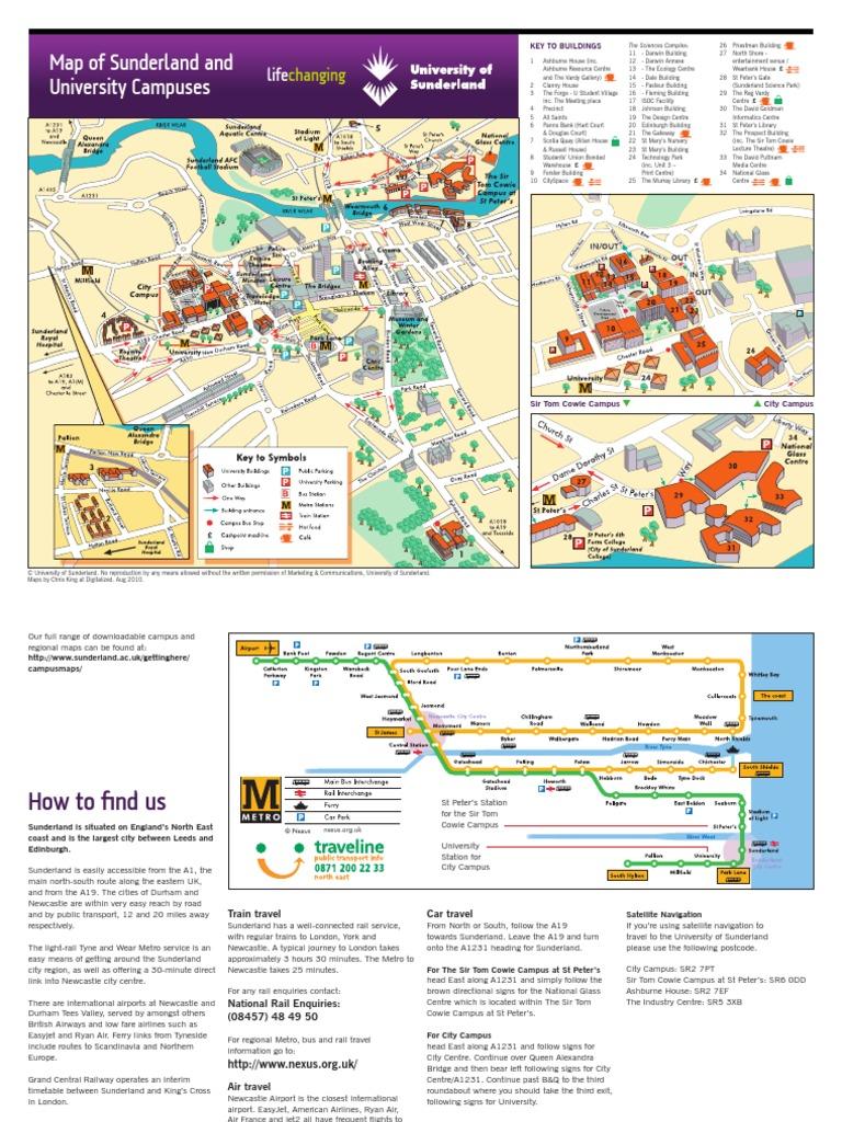 City Campus Map | Transporte | Industrias