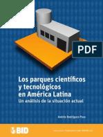 Lectura 2.Los Parques Cientificos y Tecnologicos en America Latina
