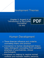 CG 501 Ch 5 Human Development Theories