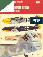 Osprey Aircam Aviation Series 42 - Messerschmit Bf109 Luftwaffe Experten Vol.3