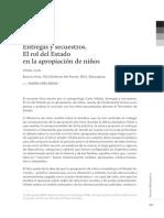 Entregas y secuestros - El rol del Estado en la apropiación de niños - BEDIA María Inés
