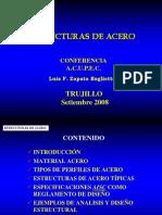 Conferencia Luis Zapata Baglietto