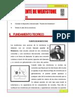 PUENTE DE WEATSTONE