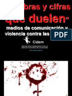 Violencia contra las mujeres y tratamiento mediático