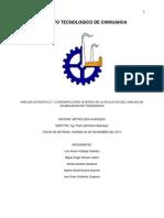 Análisis estadístico y consideraciones diversas de la aplicación del análisis de acumulación de tolerancias