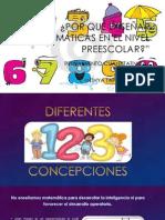 EVIDENCIA 1 porque enseñar matematicas en el nivel inicial