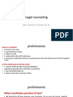 Legal Counseling Print