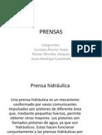 4.9 Prensa hidráulica