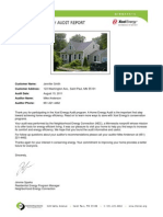Mn Res Home Energy Audit Report