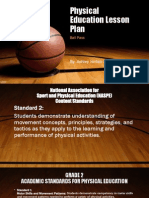 Physical Education Lesson Plan 2